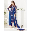 Dazzling Embroidered Work Designer Salwar Suit