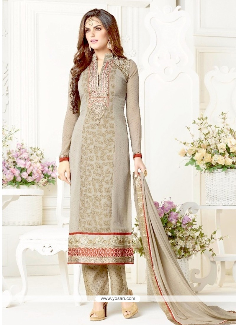 Majesty Georgette Designer Salwar Suit