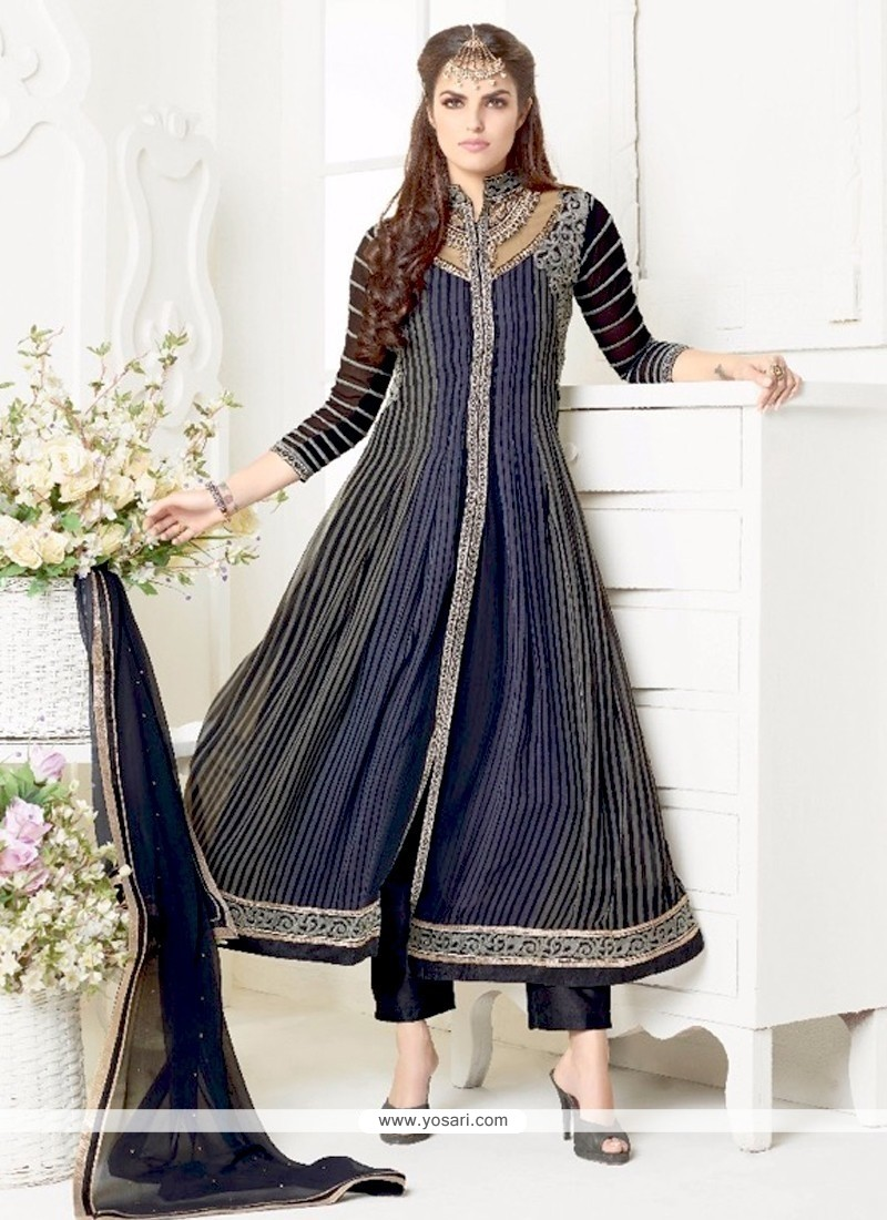 Majestic Embroidered Work Salwar Suit