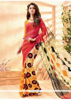 Exotic Multi Colour Casual Saree