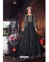 Carbon Heavy Embroidered Gown Style Designer Anarkali Suit
