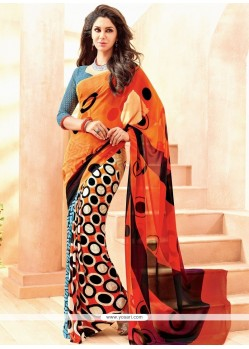 Royal Multi Colour Casual Saree
