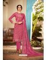 Rani Designer Party Wear Pure Viscose Crepe Straight Salwar Suit