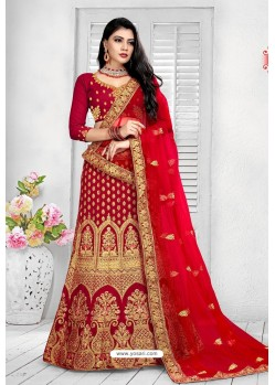 Wine Exclusive Party Wear Velvet Bridal Lehenga Choli