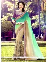 Sensational Half N Half Saree For Festival