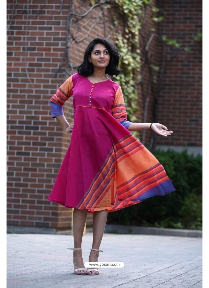 Rani Designer Cotton Readymade Kurti