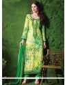 Luxurious Cotton Embroidered Work Designer Salwar Suit
