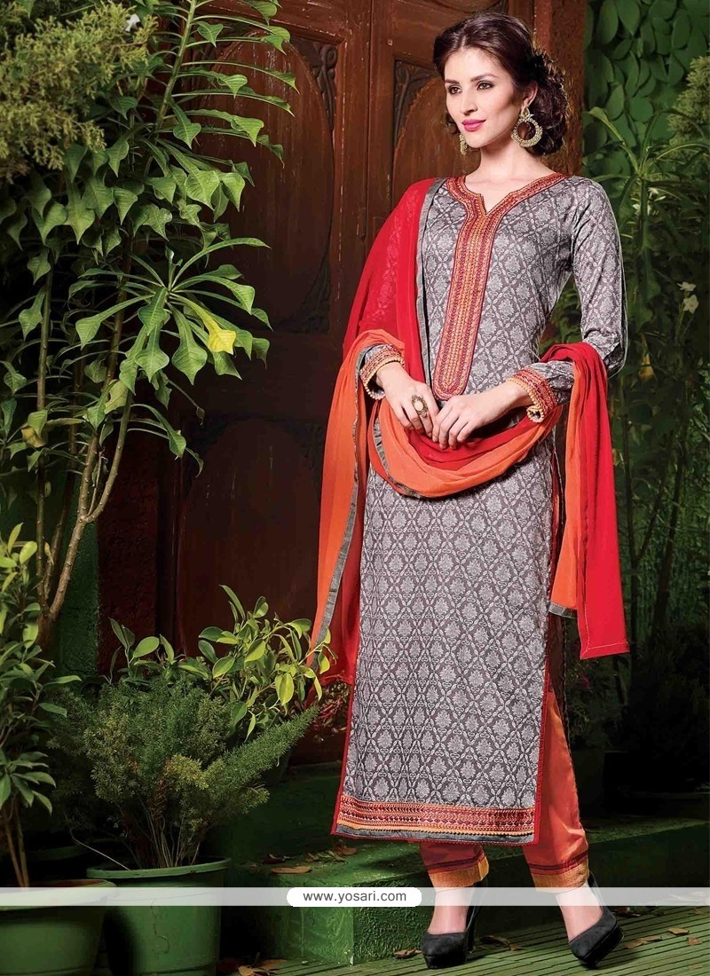 Imperial Embroidered Work Salwar Suit