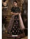 Black Exclusive Party Wear Designer Lehenga Choli