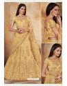 Khaki Heavy Multi Embroidered Designer Wedding Lehenga Choli