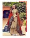 Light Beige Pure Jam Silk Palazzo Suit