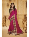 Rani Designer Silk Party Wear Saree