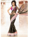 Opulent Black Casual Saree