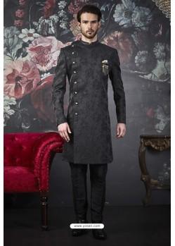 Carbon Readymade Designer Indowestern Sherwani For Men