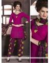 Fantastic Faux Crepe Designer Patiala Salwar Kameez