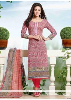 Sonorous Cotton Churidar Designer Suit