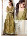 Fashionable Georgette Resham Work Palazzo Suit