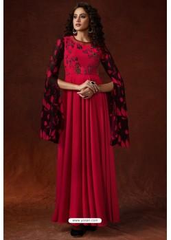 Crimson Georgette Readymade Kurtis
