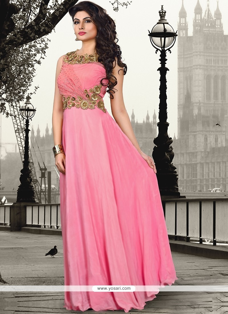 Paramount Resham Work Floor Length Gown