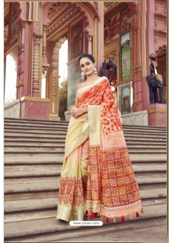 Marvelous Multi Colour Cotton Printed Saree