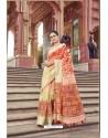 Marvelous Multi Colour Cotton Printed Saree