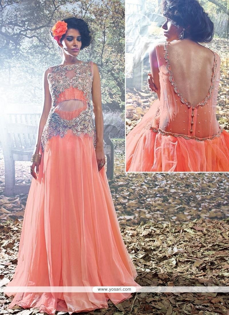 Lovely Net Designer Gown
