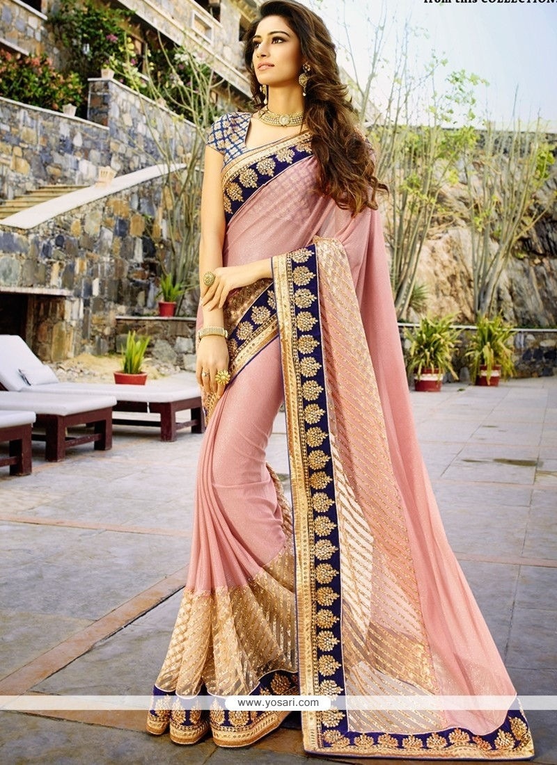 Specialised Patch Border Work Designer Saree