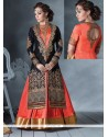 Swanky Georgette Designer Ankle Length Anarkali Suit