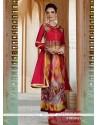 Ravishing Georgette Print Work Salwar Suit