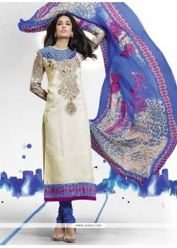 Lisa Haydon Cut Work Churidar Salwar Kameez