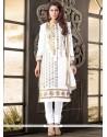 Thrilling Cotton Zari Work Designer Salwar Suit