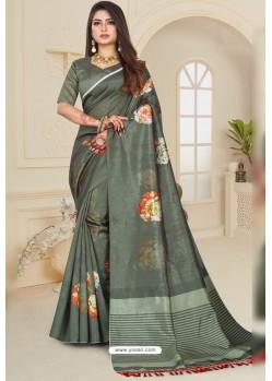 Mehendi Zoya Art Silk Printed Saree
