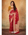 Eyeful Rani Banarasi Silk Weaving Worked Saree
