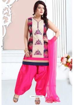 Rani Banglori Silk Patiala Salwar Suit