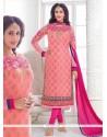 Angelic Pink Churidar Designer Suit