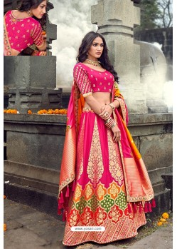 Rani Silk Designer Lehenga Choli