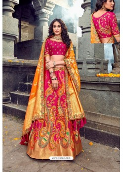 Latest Rani Silk Designer Lehenga Choli
