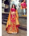 Latest Rani Silk Designer Lehenga Choli