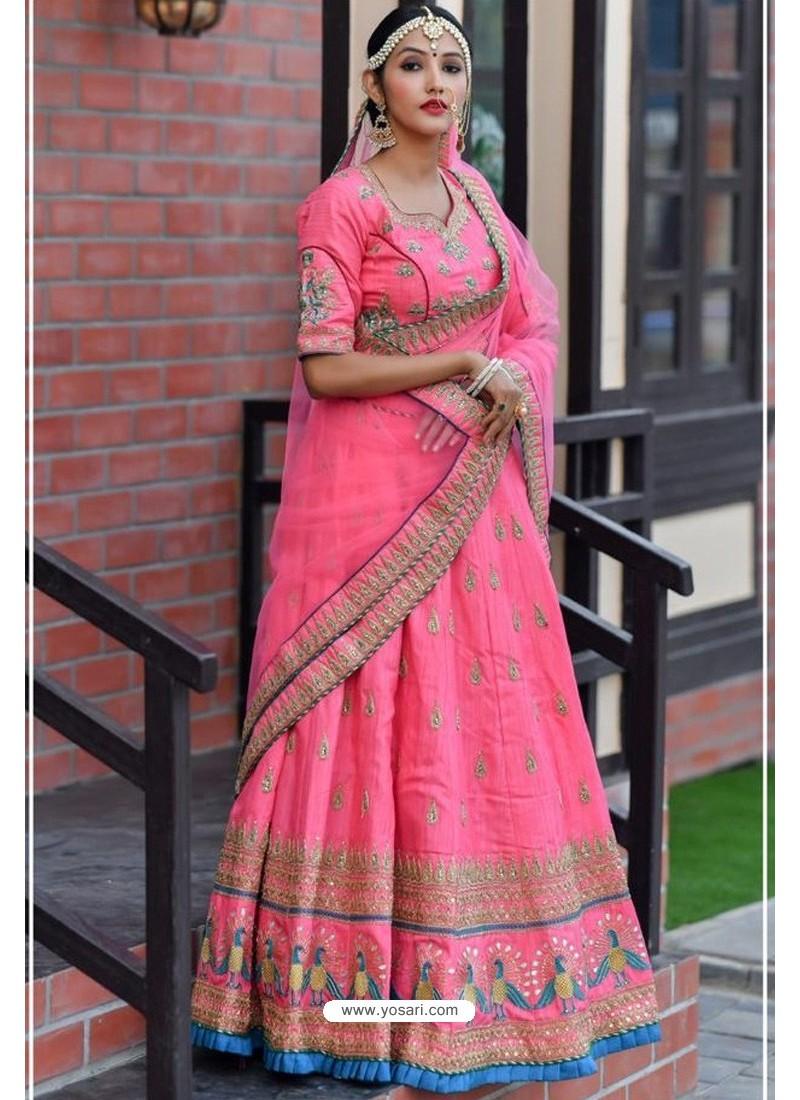 Rani Chennai Silk Designer Lehenga Choli