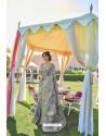 Grey Soft Handloom Weaving Silk Saree