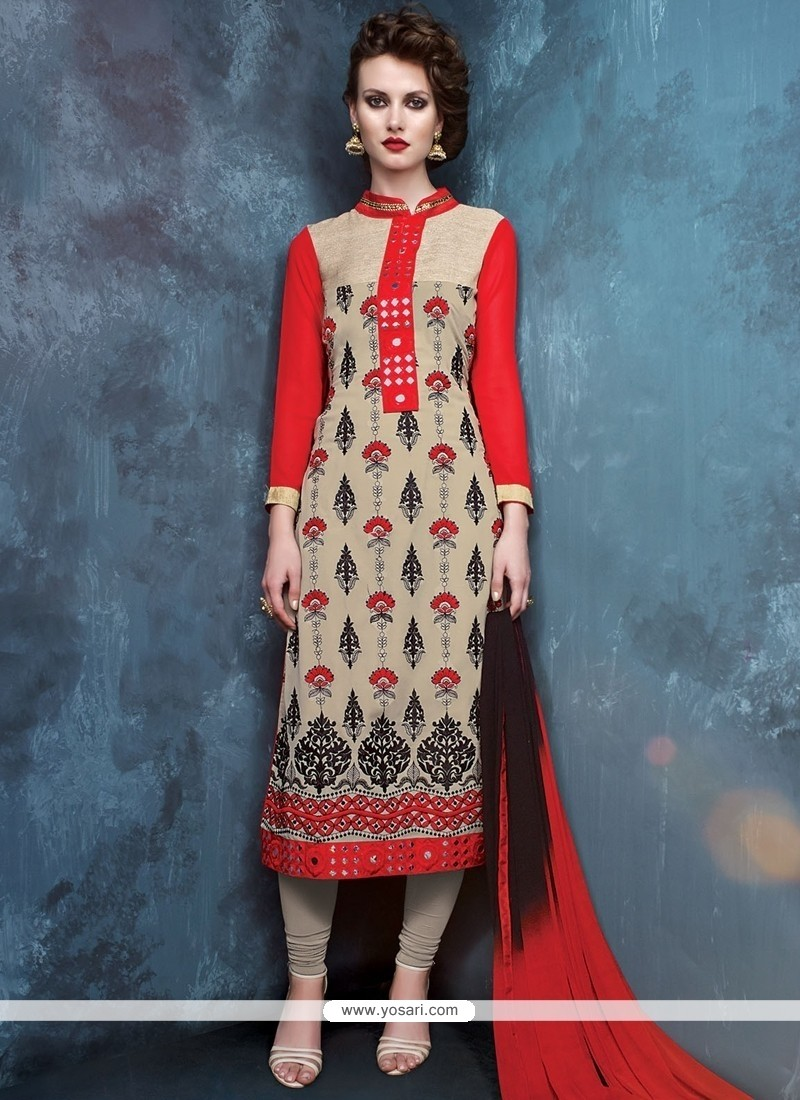 Vivacious Georgette Churidar Designer Suit