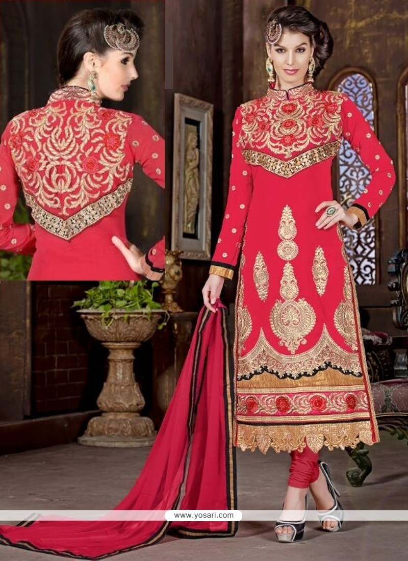Specialised Georgette Churidar Salwar Kameez