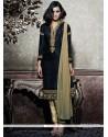 Dainty Silk Zari Work Designer Salwar Kameez