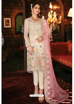 Off White Latest Heavy Designer Indo Western Suit