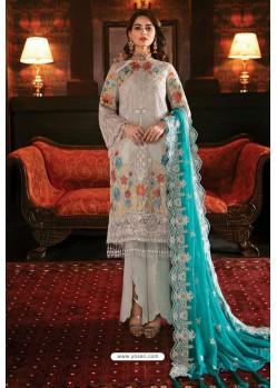 Decent Off White Latest Heavy Designer Indo Western Suit