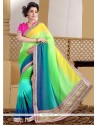 Best Faux Chiffon Contemporary Style Saree