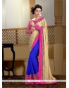 Royal Embroidered Work Jacquard Designer Saree