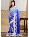Especial Georgette Resham Work Designer Saree