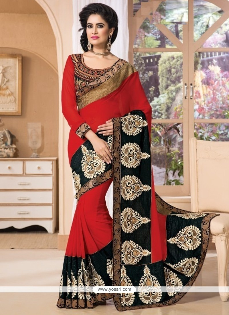 Excellent Georgette Classic Designer Saree
