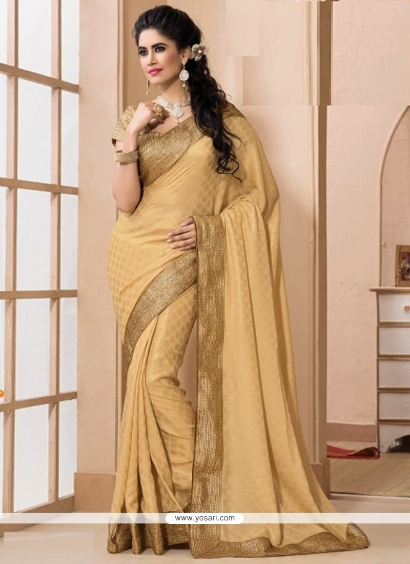 Superb Jacquard Patch Border Work Designer Saree
